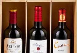 vinos y cavas cestas de navidad bizkaia